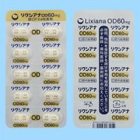 LIXIANA OD TABLETS 60mg : 10 tablets