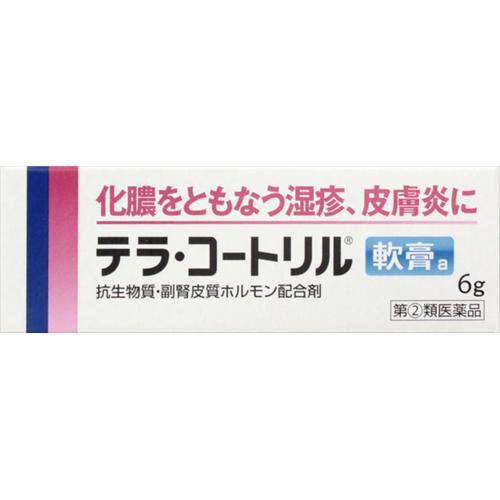テラ・コートリル軟膏a:6g入