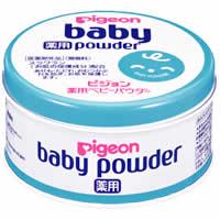 ベビーパウダー薬用・ブルー缶:150g入