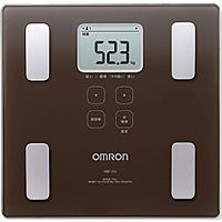 オムロン 体重体組成計カラダスキャン HBF-214(ブラウン):1台入