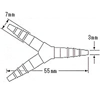 PPコネクター933(Y型小):1個入