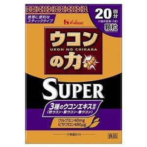 ウコンの力顆粒スーパー:20本入