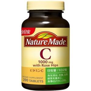 ネイチャーメイド ビタミンC500ファミリーサイズ:200粒入
