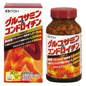 グルコサミン&コンドロイチン:300mg×360粒入