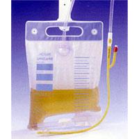 閉鎖式導尿バッグ(ユリケアー)II:容量2500ml×5枚