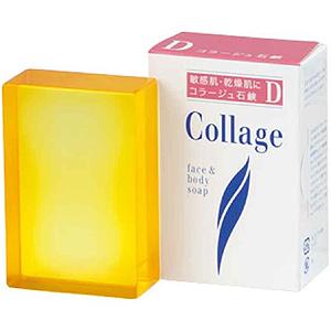 コラージュ D乾性肌用石鹸:100g入