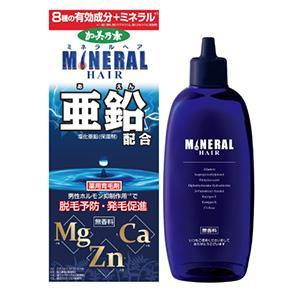 薬用加美乃素 ミネラルヘア育毛剤:180mL入