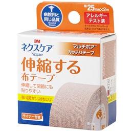 ネクスケア 伸縮する布テープ:1巻入