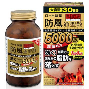 新・ロート防風通聖散錠満量:360錠入