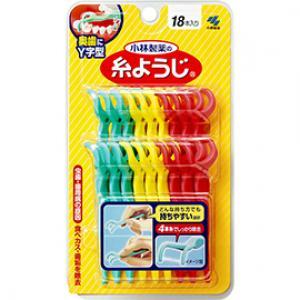 糸ようじ 奥歯に使いやすいY字型:18本入
