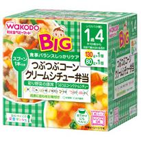 BIGサイズの栄養マルシェ つぶつぶコーンクリームシチュー弁当:130g×1パック、80g×1パック入