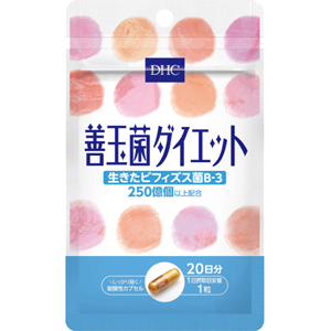 DHC 善玉菌ダイエット(20日分):20粒入
