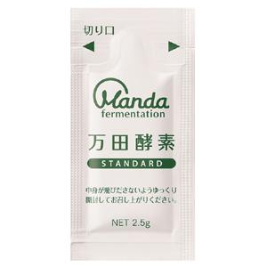 万田酵素 STANDARD 分包タイプ:77.5g(2.5g×31包)入