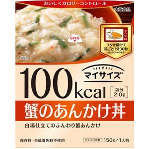 100kcalマイサイズ 蟹のあんかけ丼:150g入