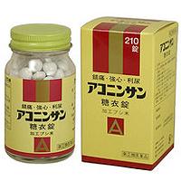 アコニンサン糖衣錠:210錠入