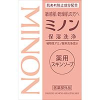 ミノン薬用スキンソープ:80g入