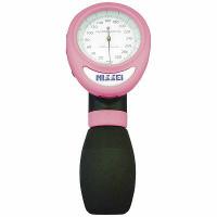*ワンハンド式アネロイド血圧計(ピンク):1台入(品番:HT-1500‐11K)