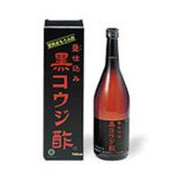天然発酵 黒コウジ酢:720ml×3本入