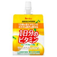 PERFECT VITAMIN 1日分のビタミンゼリー(グレープフルーツ味):180g×6個入