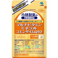 小林製薬の栄養補助食品 マルチビタミン・ミネラル+コエンザイムQ10:120粒入