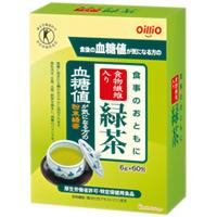 食事のおともに食物繊維入り緑茶:60包入