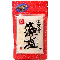 淡路島の藻塩(茶):100g入