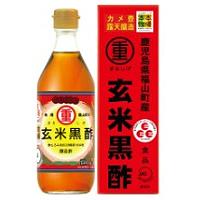 まるしげフーズ 玄米黒酢:500ml入