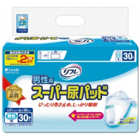 リフレ 男性用スーパー尿パッド:30枚入×【8袋】