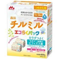 森永チルミルエコらくパック(つめかえ用):400g×2袋入