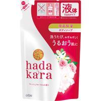 hadakara(ハダカラ) ボディソープ フレッシュフローラルの香り(つめかえ用):360ml入