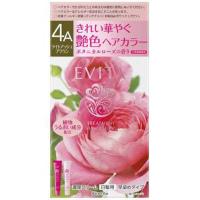 EVITA(エビータ)トリートメントヘアカラー 4A(ライトアッシュブラウン):45g+45g入