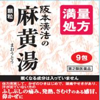 阪本漢法の麻黄湯:9包入