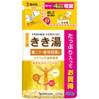 きき湯 カリウム芒硝炭酸湯(つめかえ用):480g入