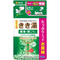 きき湯 マグネシウム炭酸湯(つめかえ用):480g入