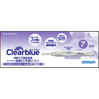 【第1類医薬品】排卵日検査薬 クリアブルー排卵日予測テスト(CB-407-N1):7本入(薬剤師からのメール確認後の発送となります)