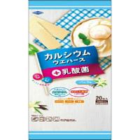 カルシウムウエハース+乳酸菌 バニラ味:20枚入