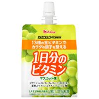 PERFECT VITAMIN 1日分のビタミンゼリー(マスカット味):180g×6個入