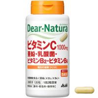 ディアナチュラ ビタミンC・亜鉛・乳酸菌・ビタミンB2・ビタミンB6:120粒入