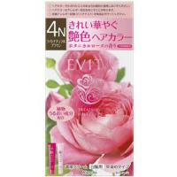 EVITA(エビータ)トリートメントヘアカラー 4N(ライトナチュラルブラウン):45g+45g入