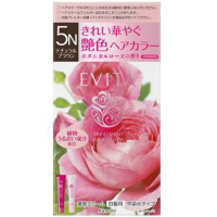 EVITA(エビータ)トリートメントヘアカラー 5N(ナチュラルブラウン):45g+45g入