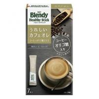 「ブレンディ」ヘルシースティック うれしいカフェオレ コーヒーオリゴ糖プラス:7本入