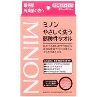 ミノンやさしく洗う弱酸性タオル:1枚入