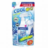 アイスノン シャツミスト(ミントの香り)大容量 つめかえ用:280mL入(季節商品)