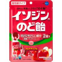 イソジンのど飴 クリアアップル味:54g入