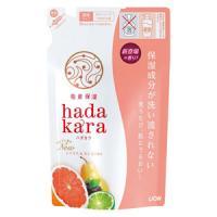 hadakara(ハダカラ) ボディソープ シトラス&カシスの香り(つめかえ用):360ml入