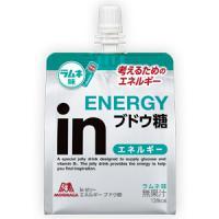 inゼリー エネルギー ブドウ糖:180g×6袋入