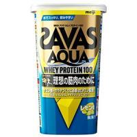 ザバス アクア ホエイプロテイン100 レモン風味:294g入(約14食分)