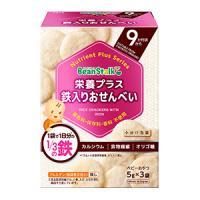 栄養プラス 鉄入りおせんべい:15g(5g×3袋)
