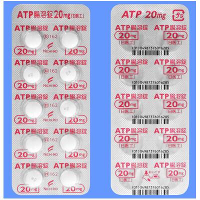 ATP腸溶錠20mg「日医工」:100錠(10錠×10)PTP