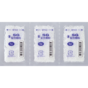 SG配合顆粒:105g(1g×105包)